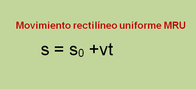movimiento rectilineo uniforme problemas