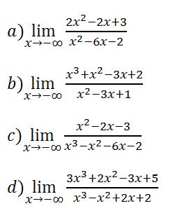 limites de funciones indeterminados