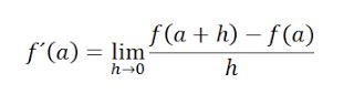 Derivada de una función en un punto Por la definición