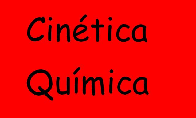 cinetica quimica 2 bachillerato