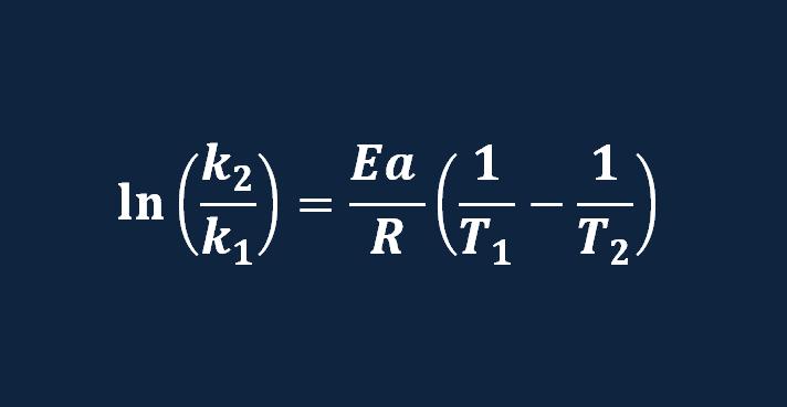 ecuacion de arrhenius ejercicios resueltos